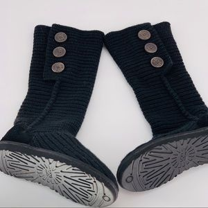 Tall sweater style UGGS size 6 GUC